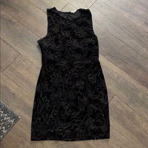 Free people satin black dress